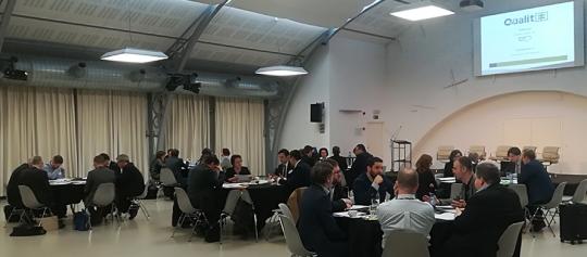 QualitEE Workshop über Qualitätssicherung für Energieeffizienzdienstleistungen in Madrid