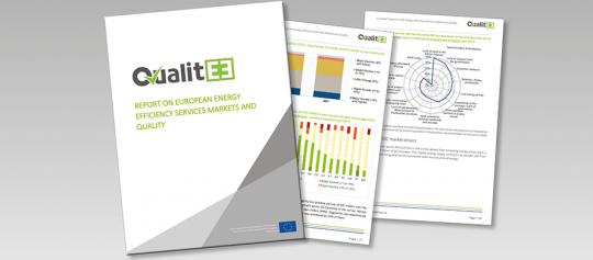 Das Projekt QualitEE veröffentlicht den Europäischen Marktreport zu Energieeffizienzdienstleistungen und Qualität