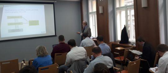 Dne 22.10. proběhl úspěšně vzdělávací kurz k EPC pro ESCO a poradce