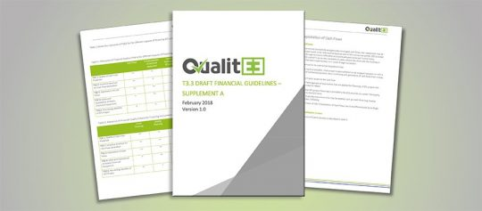 Entwurf über technische und finanzielle Qualitätsrichtlinien veröffentlicht