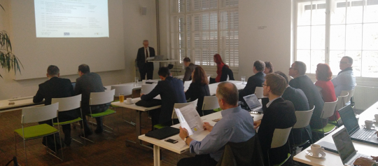 EU Workshop Prag: Diskussion über Geschäftsmodelle für Qualitätssicherung von Energieeffizienzdienstleistungen