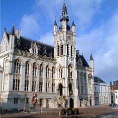 Belgique - Bâtiments municipaux de la ville de St Niklaas