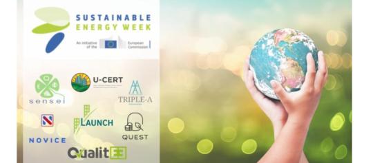 QualitEE sera présenté lors de la Policy Conference de la EU Sustainable Energy Week