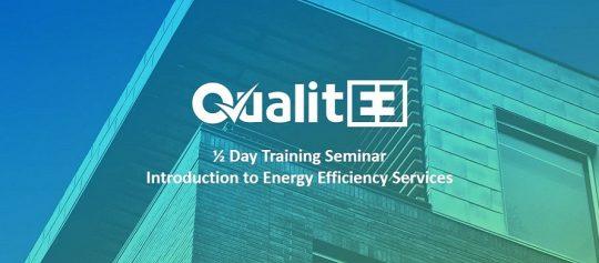 QualitEE project UK free half day training seminars start this November at the Energy Institute, London