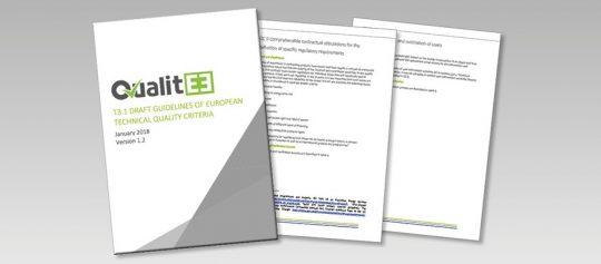 QualitEE projekts publicē Eiropas vadlīnijas kvalitātes vadības kritērijiem energoefektivitātes projektiem – pirmo darba versiju