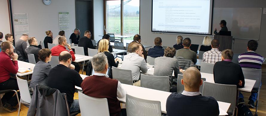 Za nami je prvi seminar o novih pristopih k izvajanju projektov energetske učinkovitosti