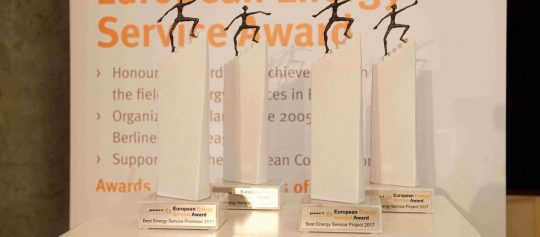 European Energy Service Awards to showcase outstanding achievements in energy efficiency services