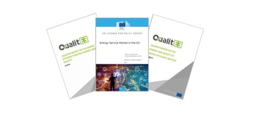 QualitEE Project research showcased in the Joint Research Centre's latest energy service market report