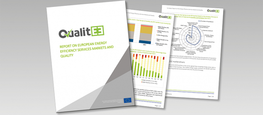 QualitEE project publishes market research on European Energy Efficiency Services markets, finance and quality