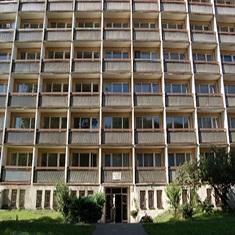 Slovakia - Building of student dormitory  ŠD5 - Starohájska 2900/8 in Bratislava